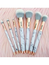GWA Cosmetics GWA The Marble Collection | 7pcs Makeup Brush Set