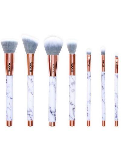 GWA Cosmetics GWA The Marble Collection | 7pcs Makeup Brush Set