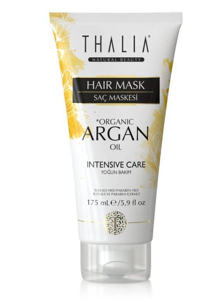 Thalia Beauty Thalia - Organic Argan Oil & Macadamia Butter Hair Mask 175 ml