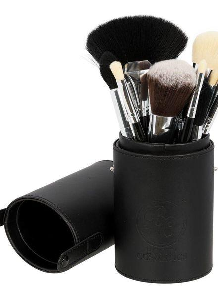 Boozy Cosmetics Boozy Cosmetics Oval Brush Cup Holder Black