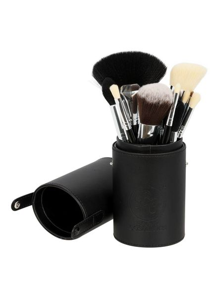 Boozy Cosmetics Boozy Cosmetics Oval Brush Cup Holder Black