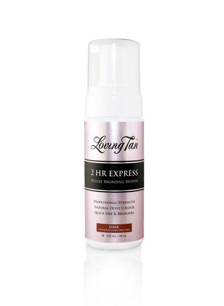LovingTan Loving Tan 2 Hr Express Mousse - dark