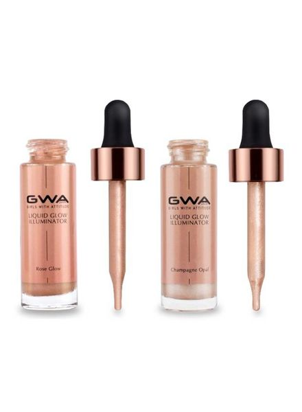 GWA Cosmetics GWA Liquid Glow Illuminator - The Combo