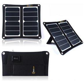 13W mobiles Solarpanel USB
