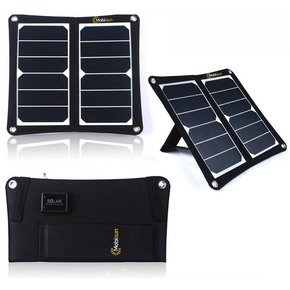 13W USB móvil de paneles solares