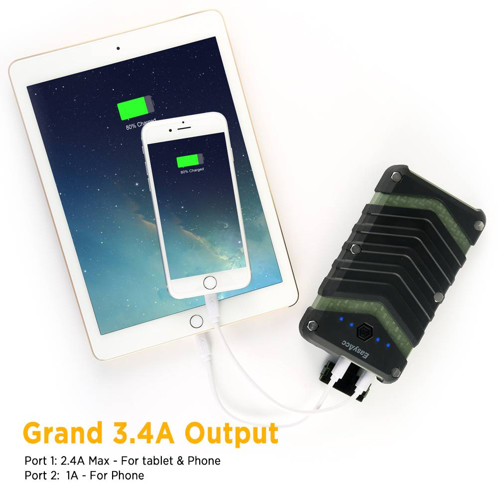 EasyAcc 20.000 mAh outdoor powerbank