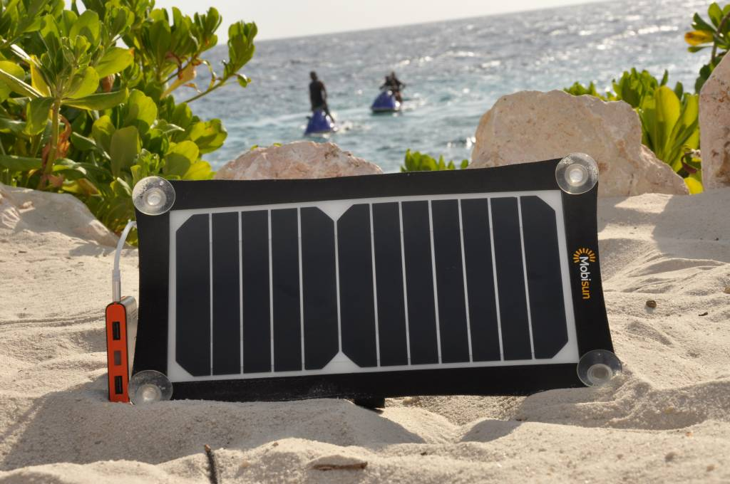 Mobisun 6,5W mobiel zonnepaneel USB