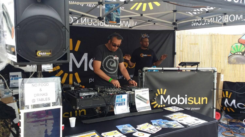 Mobisun op EDIT en Zomerfruit festival