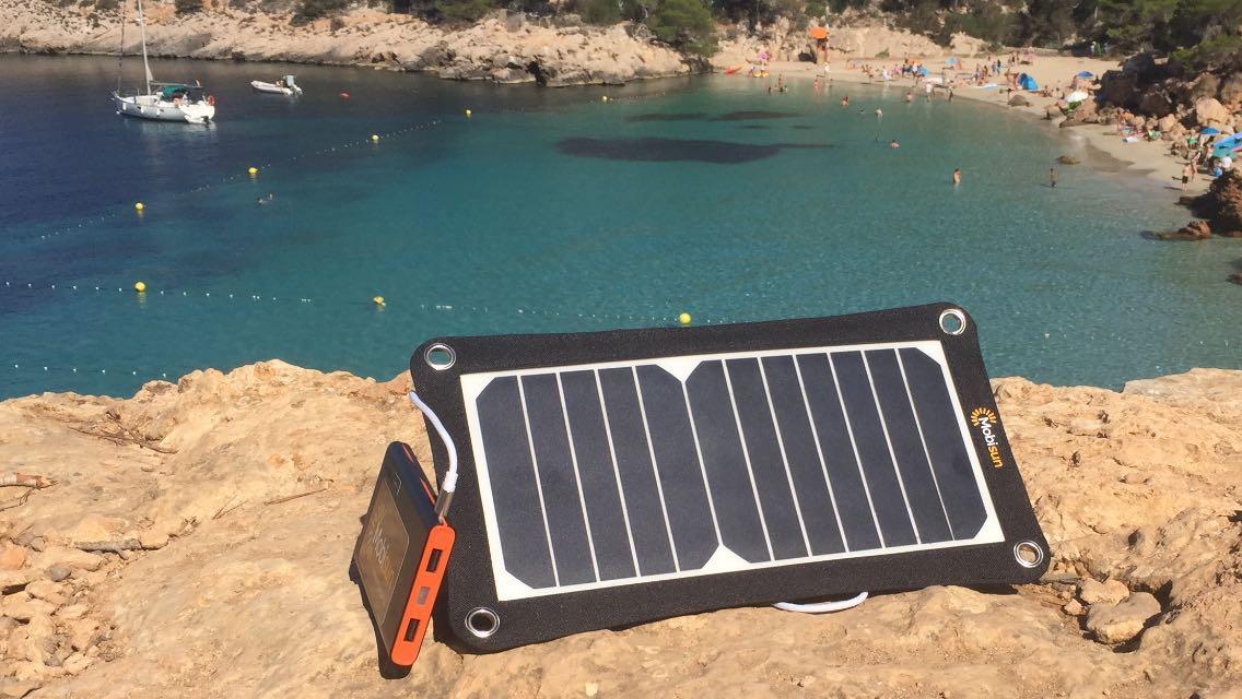 mobiel zonnepaneel