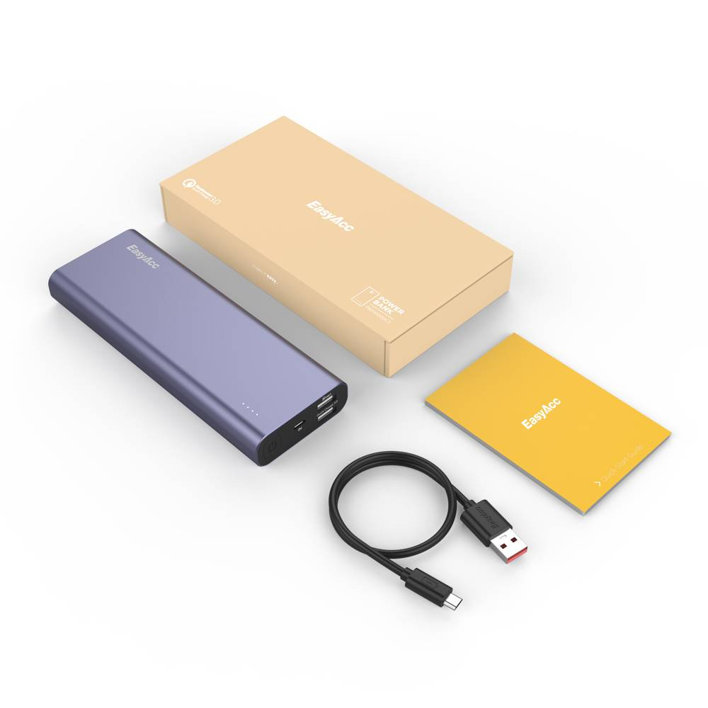EasyAcc 20.000 mAh Quick Charge 3.0 Power Bank