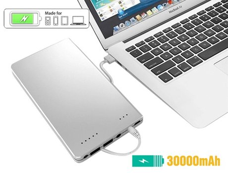 Mobisun 30.000 mAh laptop powerbank