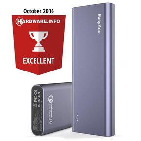 20.000 mAh Quick Charge Power Bank