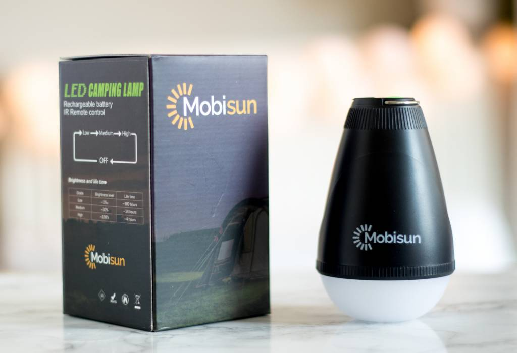 Mobisun Waterproof Outdoor USB Light LED | Mobisun