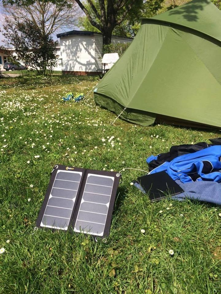 Mobisun op de camping