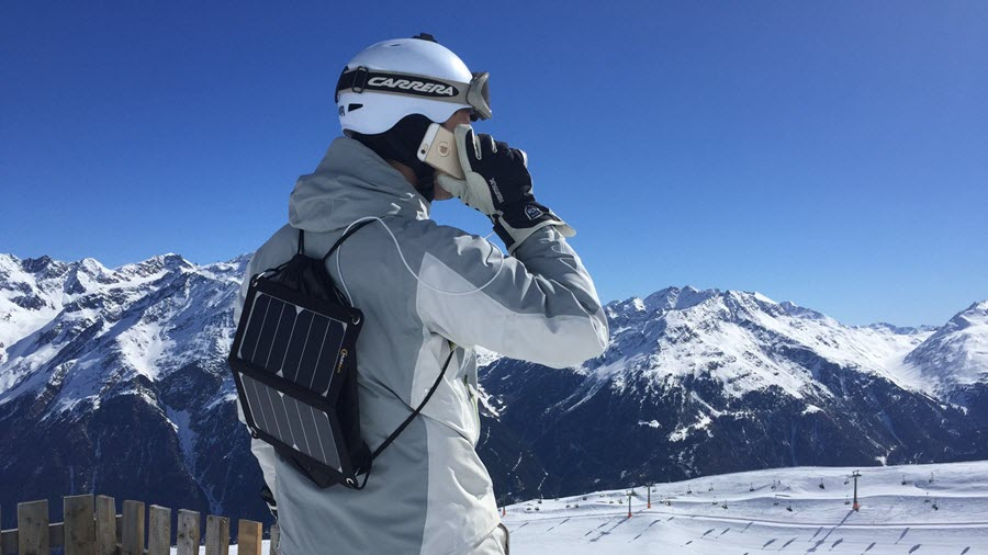 mobisun op wintersport