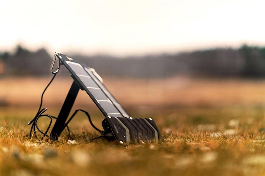 mobisun in het veld