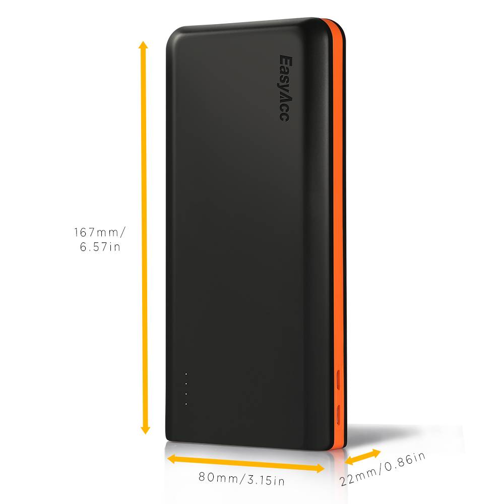EasyAcc 20,000 mAh Quick Charge 3.0 powerbank | Mobisun