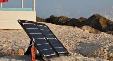 iPhone opladen met een solar powerbank
