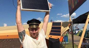 Mobisun particitpates in field test Mysteryland