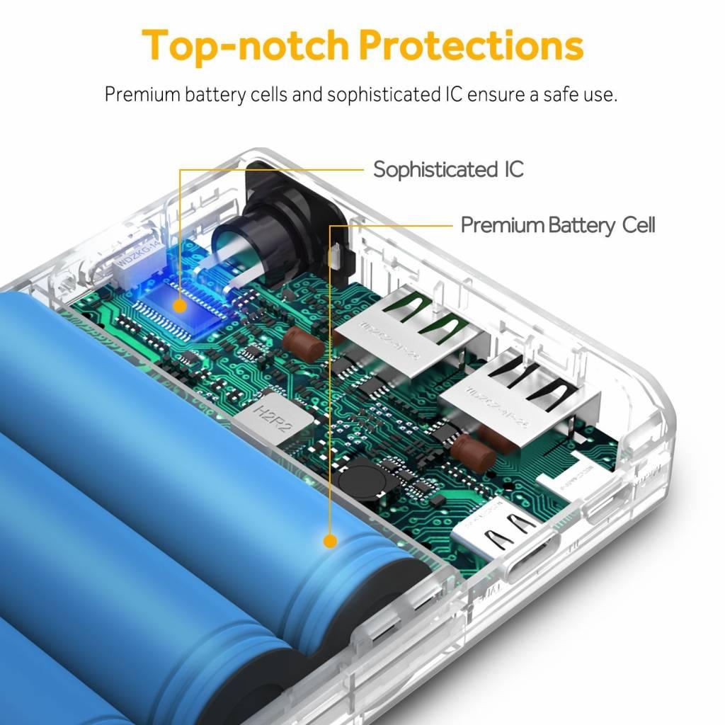EasyAcc 16.750 mAh Quick Charge 3.0 powerbank | Mobisun