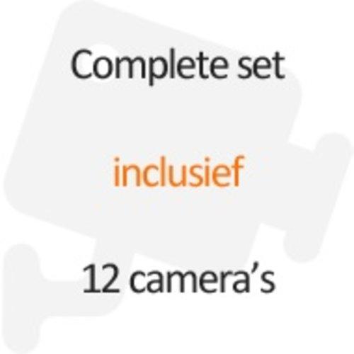Inclusief 12 camera's
