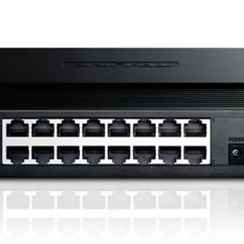TP-link 16 poort 10/100 Mbit switch
