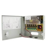 CW-VK5-5 - 12 volt 5A voedingskast met 5 aansluitingen