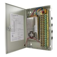 CW-VK20-18 - 12 volt 20A voedingskast met 18 aansluitingen