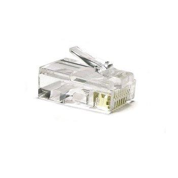 RJ45 krimp connector voor UTP kabel - Unshielded