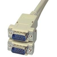 3 meter VGA kabel male-male