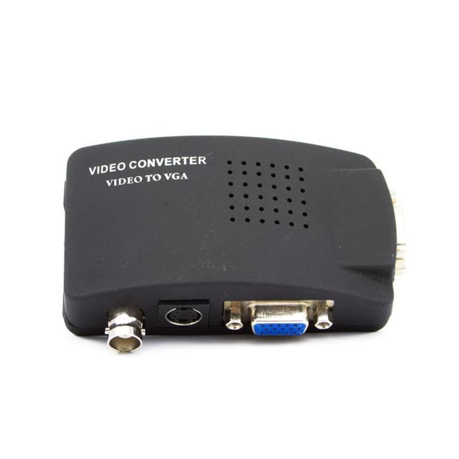CW-OV - Omvormer BNC naar VGA