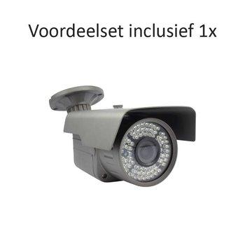 CHD-CS01B4 - 4 kanaals NVR inclusief 1 CHD-B4 IP camera
