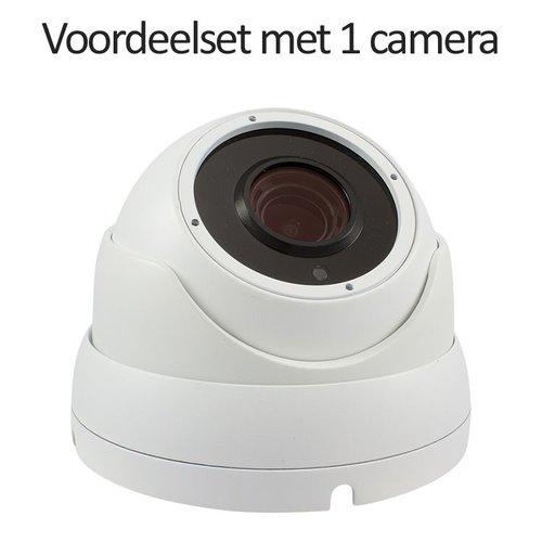 Neview CHD-CS015MD1-W - Set met recorder en 1x CHD-5MD1-W IP camera