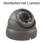 CHD-CS015MD1 - 4 kanaals NVR inclusief 1 CHD-5MD1 5 MegaPixel IP camera