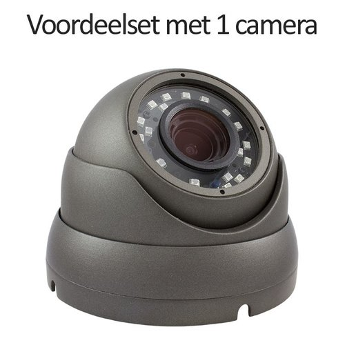 Neview CHD-CS015MD1 - Set met recorder en 1x CHD-5MD1-G IP camera