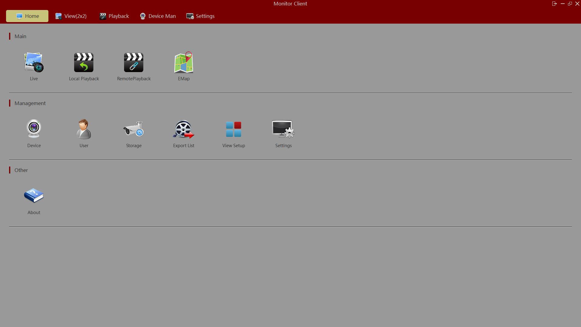 IP camera software Windows Mac