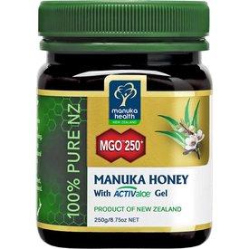 manuka health - New Zealand Manuka Honig - 250g - MGO 250+ mit ActivAloe