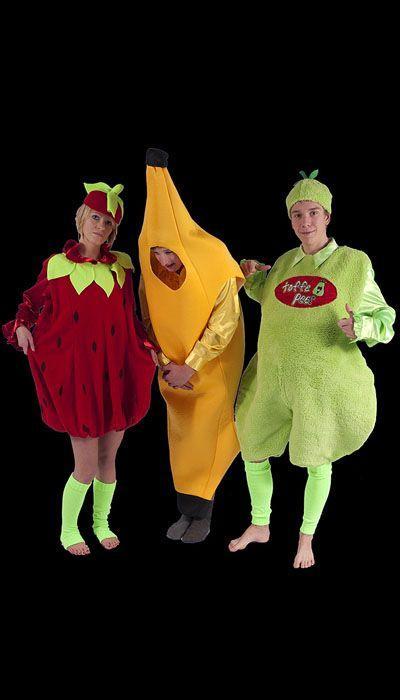 Toffe peer, aardbei, banaan