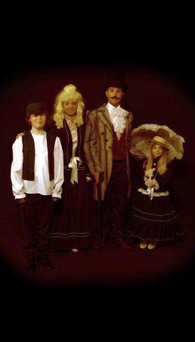 Amerikaans gezin 1850