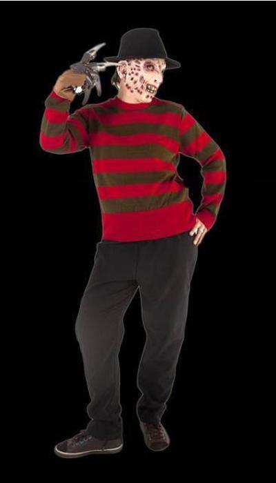 Freddy Krueger kostuum huren