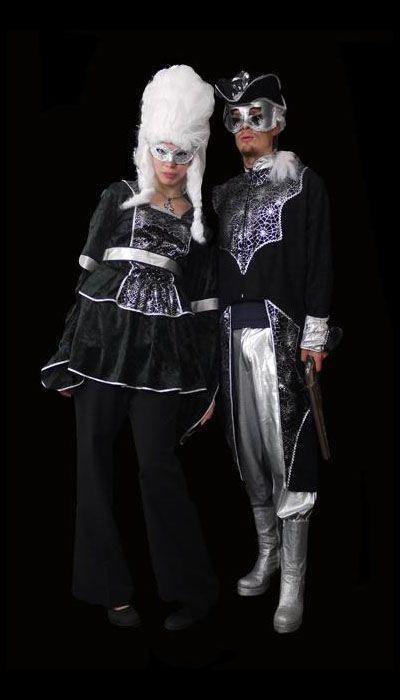 Edelman en Edelvrouw kostuum