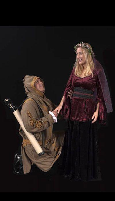 Robin Hood kostuum en Lady Marian kostuum