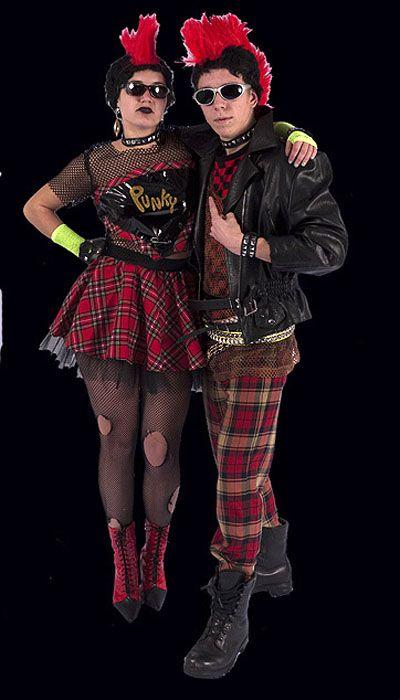 Punk kostuums