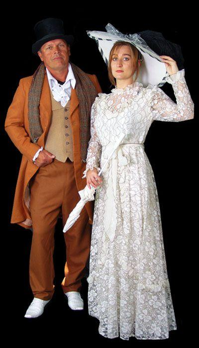 Heer en Dame 1900