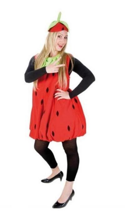 Aardbeien kostuum