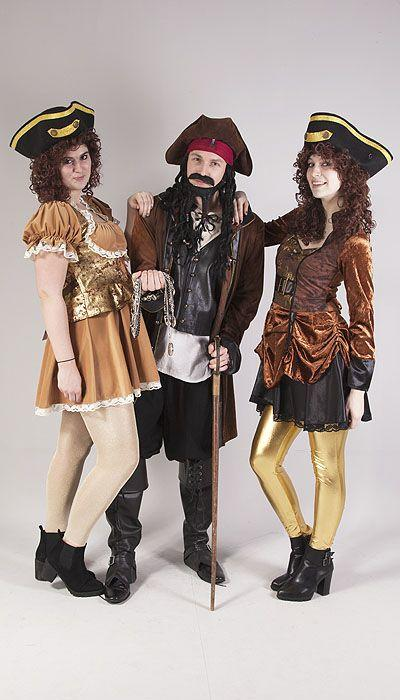Jack Sparrow en Pirate girls