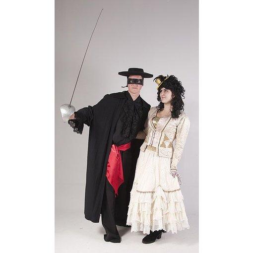 Zorro met dame