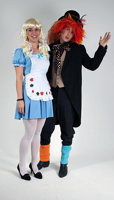 Alice in Wonderland & Mad Hatter