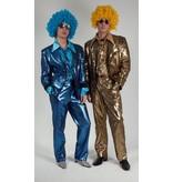 Modern glitterpak in blauw en goud verkrijgbaar