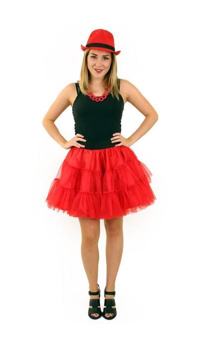 Petticoat rood - kopen